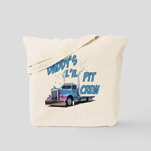 Daddy's L'il Pit Crew Tote Bag