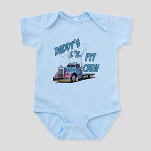 Daddy's L'il Pit Crew Infant Bodysuit