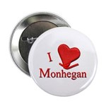 "I LOVE Monhegan 2.25"" Button (10 pack)"