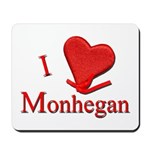 I LOVE Monhegan Mousepad