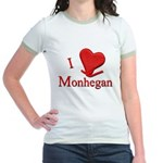 I LOVE Monhegan Jr. Ringer T-Shirt