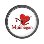 I LOVE Monhegan Wall Clock