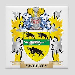 Sweeney family crest coasters cafepress sweeney family crest coat of arms tile coaster altavistaventures Gallery
