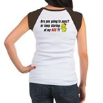 """Keep Staring"" Women's Cap Sleeve T-Shirt"