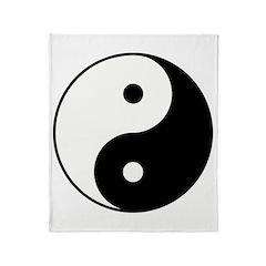 Yin Yang Throw Blanket
