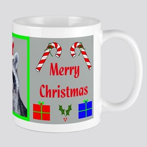 Christmas Raccoon Mug