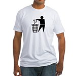 Atheist Fitted T-Shirt