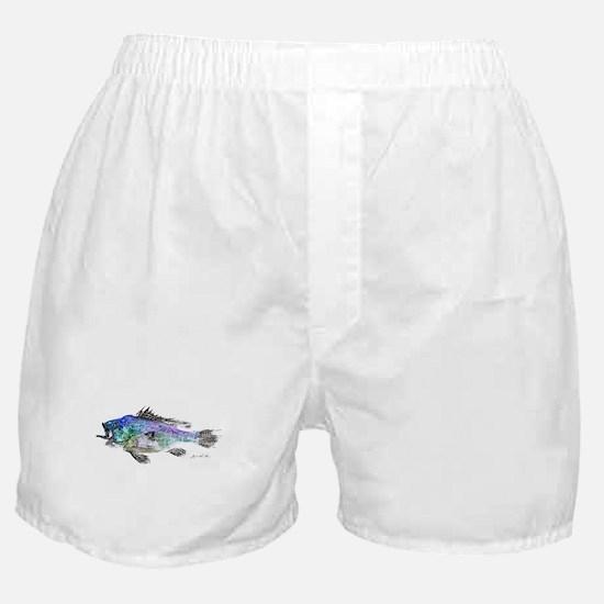 Black Sea Bass Boxer Shorts
