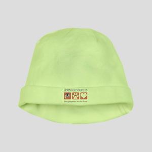 Springer Spaniel Lover baby hat