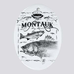 Montauk Ornament (Oval)