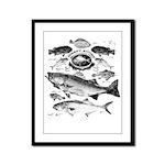 Jersey Shore Framed Panel Print