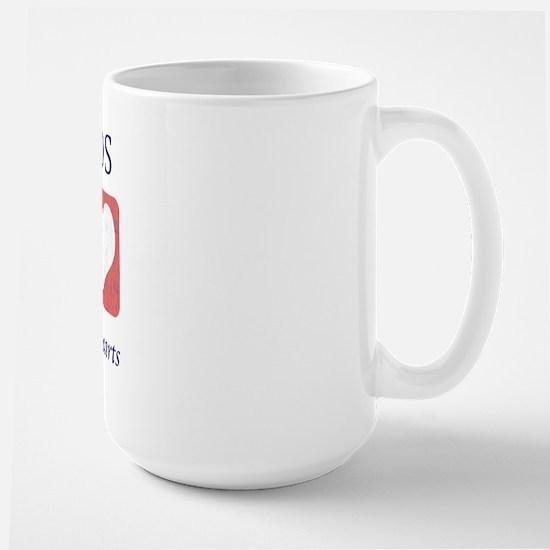 Saint Bernard Lover Large Mug