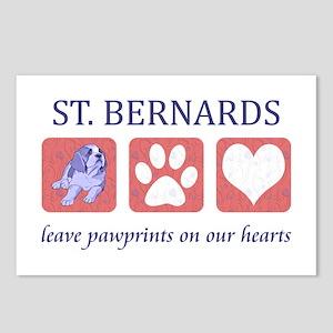 Saint Bernard Lover Postcards (Package of 8)