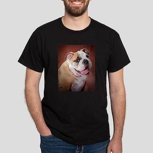 English Bulldog Puppy Dark T-Shirt
