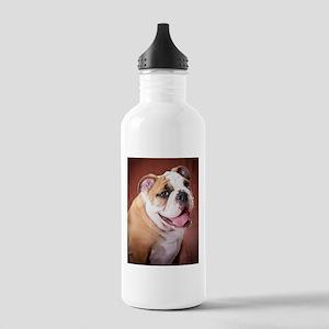English Bulldog Puppy Stainless Water Bottle 1.0L