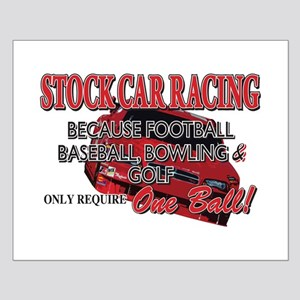 Stock Car Auto Racing Small Poster