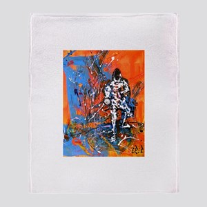 """""""Abstract Epee"""" Throw Blanket"""