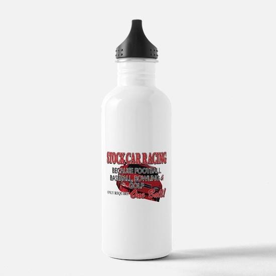 Stock Car Auto Racing Water Bottle