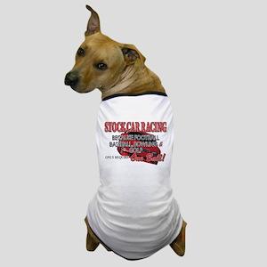 Stock Car Auto Racing Dog T-Shirt