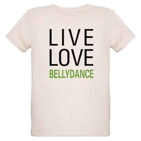 Live Love Bellydance Organic Kids T-Shirt