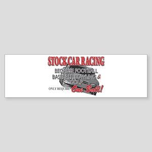 Stock Car Auto Racing Sticker (Bumper)