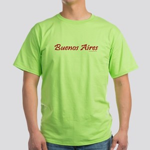 Buenos Aires - Green T-Shirt