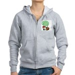 Gnome What I Mean Women's Zip Hoodie
