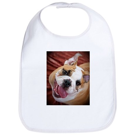 English Bulldog Puppy Bib