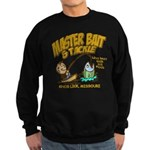 Master Bait Tackle Black Sweatshirt (dark)