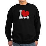 I LOVE Myself Sweatshirt (dark)