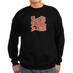 Hippie for Life Sweatshirt (dark)