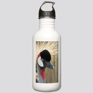 Helaine's Crowned Crane Stainless Water Bottle 1.0