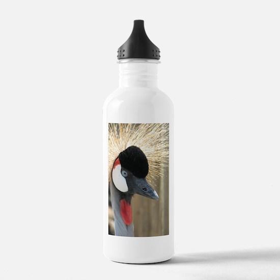 Helaine's Crowned Crane Water Bottle