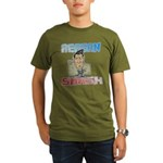 Reagan Smash Organic Men's T-Shirt (dark)