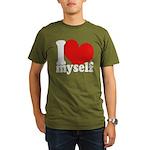 I LOVE Myself Organic Men's T-Shirt (dark)