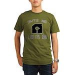 Byte Me 1983 Organic Men's T-Shirt (dark)