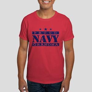 Proud Navy Grandma Dark T-Shirt