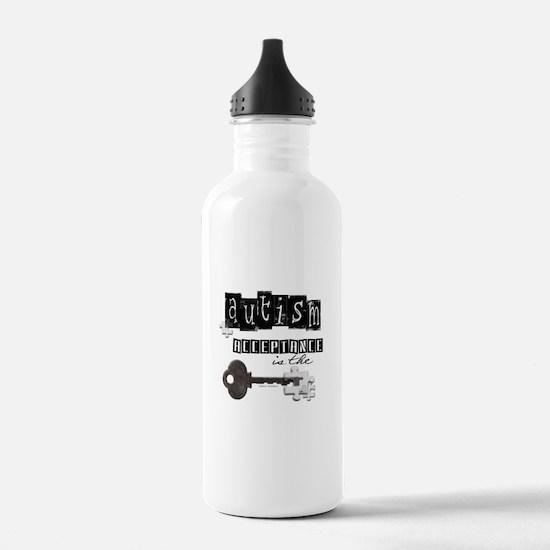 Autism Acceptance Water Bottle