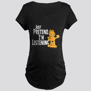 Just Pretend Maternity Dark T-Shirt