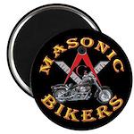 Masonic Bikers Magnet
