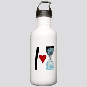 I heart WikiLeaks Stainless Water Bottle 1.0L