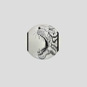 Fierce, Tiger, Mini Button