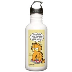 Exercise Vintage Stainless Water Bottle 1.0L