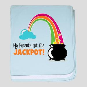 Jackpot! baby blanket