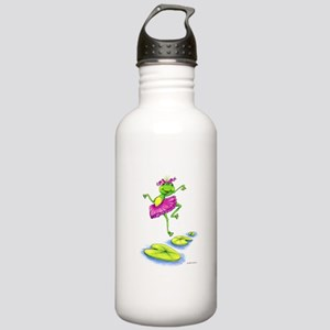 Dancing Lily Stainless Water Bottle 1.0L