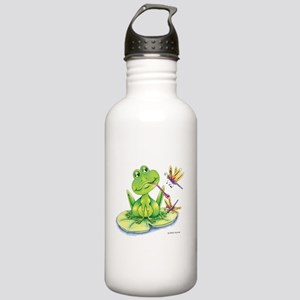 Logan the frog Stainless Water Bottle 1.0L