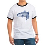 Graphic Striped Bass Ringer T