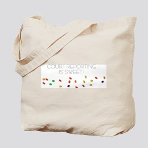 Court Reporting is Sweet Tote Bag
