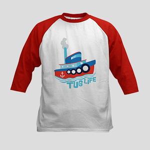 Tug Life Kids Baseball Jersey