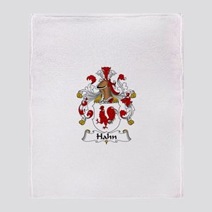 Hahn Throw Blanket